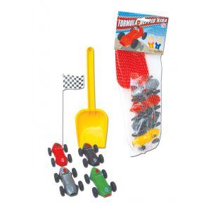 FORMULA-NEPPIS CAR RACING SET