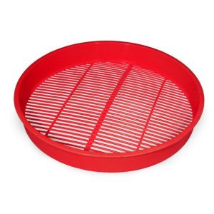 BERRY CLEANING TRAY 30CM RED