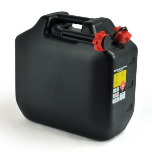 PETROL CAN 18L BLACK
