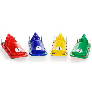 BOBSLED 10CM ASSORTED COLOURS