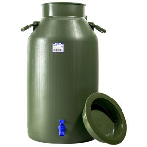 CONTAINER/TAP 30L GREEN